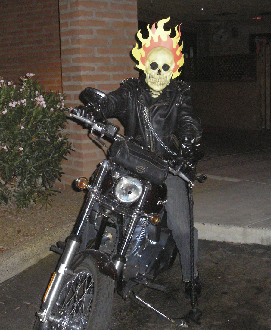 Scout Funny Motorcycle Halloween Costumes
